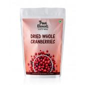 True Elements Dried Whole Cranberries 125gm