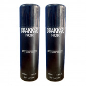 Guy Laroche Drakkar Noir Deodorant 200Ml (Pack Of 2)