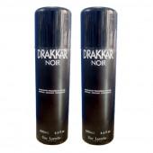 Guy Laroche Drakkar Noir Deodorant 200Ml (Pack Of 2)
