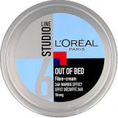 L'Oreal Paris Imported (Made In Nederland) Studio Line Out of Bed Fibre Cream 6 Cream(150 ml)