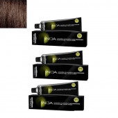 L'Oreal Professionnel Inoa Hair Colour No 4 Brown, 3 Tube-60 G