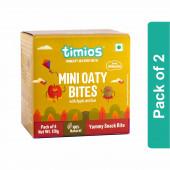 Timios Mini Oaty Bites (Apple & Kiwi)- Pack of 2