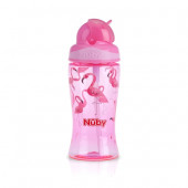 Nuby Thirsty Kids™ Flip-it™ BOOST 360ml-Pink