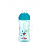 Nuby Thirsty Kids™ Sip It Sport 360ml-Blue