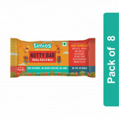 Timios Nutty Energy Bar- Pack of 8