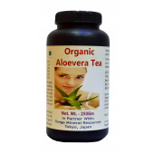 Tonga Herbs Organic Aloevera Tea - 250 Gm (Buy Any Supplement Get The Same 60ml Drops Free)