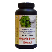 Tonga Herbs Organic Stevia Extract Tea - 250 Gm (Buy Any Supplement Get The Same 60ml Drops Free)