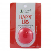 Organic Harvest Happy Lips Strawberry Lip Balm 10gm