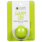 Organic Harvest Happy Lips Green Apple  Lip Balm 10gm
