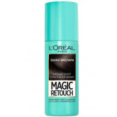 L'Oreal Paris Magic Retouch Instant Root Concealer Spray Dark Brown, 75ml Hair Color  (Dark Brown)