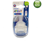 Philips Avent Classic Nipples (1M+) Twin Pack
