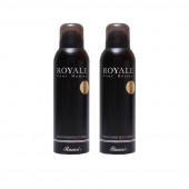 Rasasi 2 Royale Men Deodorant Spray - For Men  (200 ml, Pack of 2)