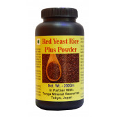 Tonga Herbs Red Yeast Rice Plus Tea - 250 Gm (Buy Any Supplement Get The Same 60ml Drops Free)