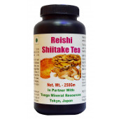 Tonga Herbs Reishi Shiitake Tea - 250 Gm (Buy Any Supplement Get The Same 60ml Drops Free)