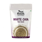True Elements Raw White Chia Seeds 250gm