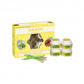 Vaadi Herbals Lemongrass Anti-Pigmentation Spa Facial Kit With Cedarwood Extract (70 g)