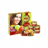 Vaadi Herbals Skin Lightening Fruit Facial Kit, 270g