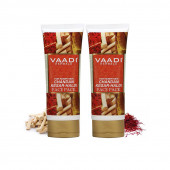 Vaadi Herbals Value Chandan Kesar Haldi Fairness Face Pack, 120gm x 2