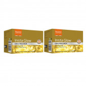 VLCC Insta Glow Gold Bleach (60g) (Pack of 2)