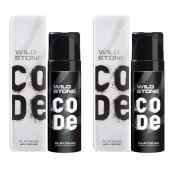 Wild Stone Code Platinum Body Perfume Spray 120ml -(Pack OF 2)