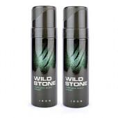 Wild Stone  Iron Body Perfume Spray 120ml -(Pack OF 2)