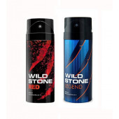 Wild Stone Red And Legend Body Spray (Pack OF 2)