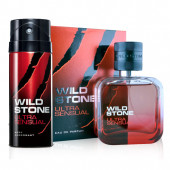 Wild Stone Ultra Sensual Perfume 50ml And Deodorant 150ml