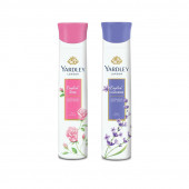 Yardley English Rose, English Lavender (Pack of 2) Deo For women
