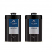 Yardley London Elegance Deodorizing Talc 150g  for Men (Pack OF 2)