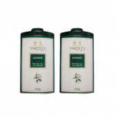 Yardley London Imperial Jasmine Perfumed Talc 250g (Pack of 2) For Women